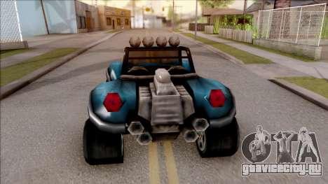 BF Injection from GTA 3 для GTA San Andreas вид сзади слева