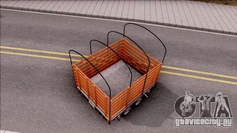 Remolque De Estacas для GTA San Andreas вид изнутри