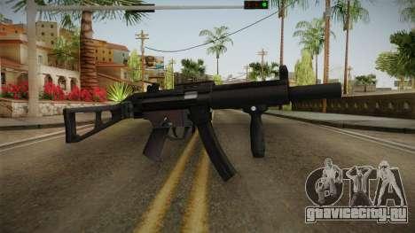 HK MP5 Silenced для GTA San Andreas
