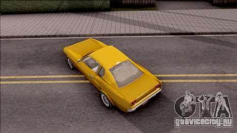 Driver PL Brooklyn V.2 для GTA San Andreas вид сзади