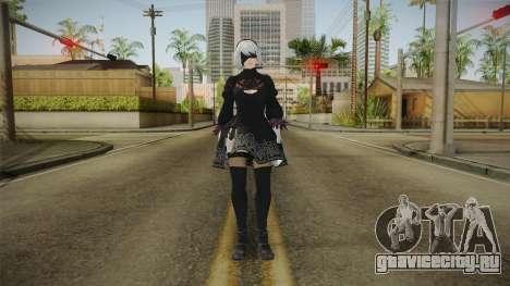 2B Nier Automata для GTA San Andreas второй скриншот