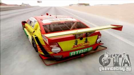 Chevrolet Sonic JL G 09 Stock V8 для GTA San Andreas вид справа