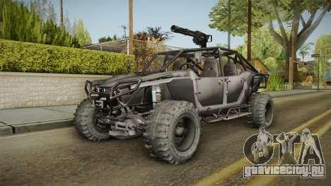 Ghost Recon Wildlands - Unidad AMV для GTA San Andreas вид сзади слева