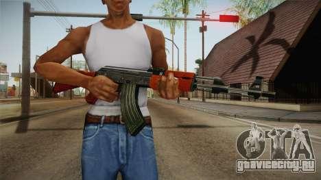 CF AK-47 для GTA San Andreas третий скриншот