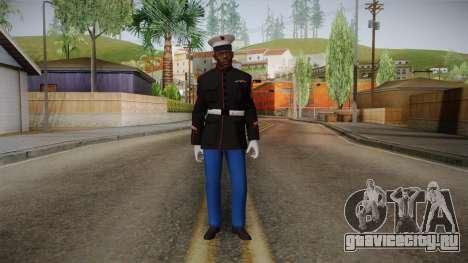 CoD: AW - Marine Dress Uniform Cormack для GTA San Andreas второй скриншот