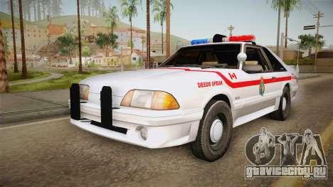 Ford Mustang SSP 1993 YRP для GTA San Andreas