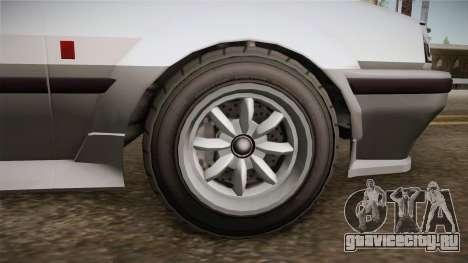 GTA 5 Karin Futo 4-doors для GTA San Andreas вид сзади