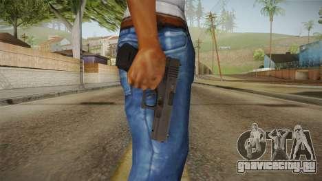 Glock 18 3 Dot Sight Cyan для GTA San Andreas третий скриншот