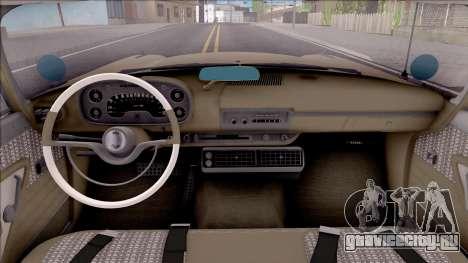 Plymouth Belvedere 1958 IVF для GTA San Andreas вид изнутри
