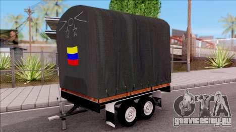 Remolque De Estacas для GTA San Andreas