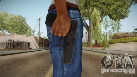 Glock 18 3 Dot Sight Orange для GTA San Andreas третий скриншот