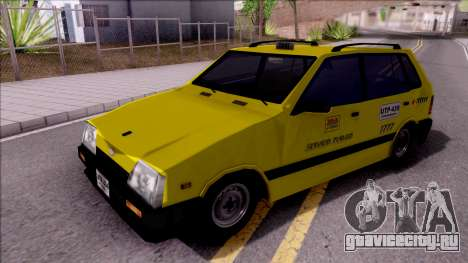 Chevrolet Sprint Taxi Colombiano для GTA San Andreas