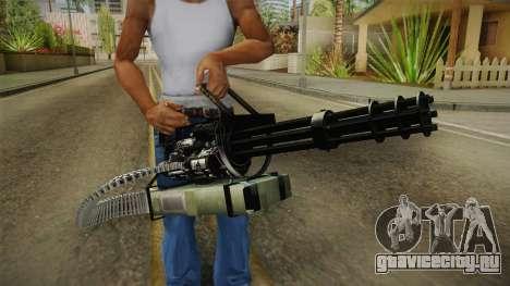Minigun China Wind для GTA San Andreas третий скриншот