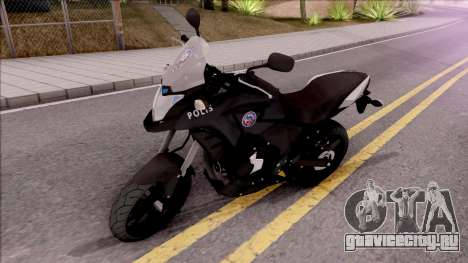 Honda CB500X Turkish Police Motorcycle для GTA San Andreas