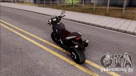 Honda CB500X Turkish Police Motorcycle для GTA San Andreas вид слева