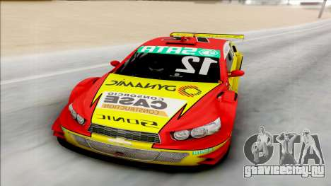 Chevrolet Sonic JL G 09 Stock V8 для GTA San Andreas вид сзади