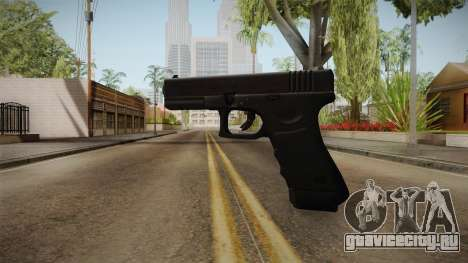 Glock 17 3 Dot Sight White для GTA San Andreas третий скриншот