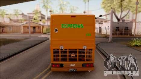 DIC EXPREBUS для GTA San Andreas вид сзади слева
