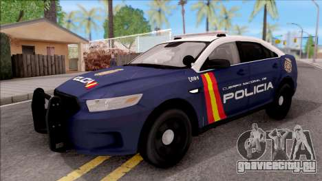 Ford Taurus Spanish Police для GTA San Andreas