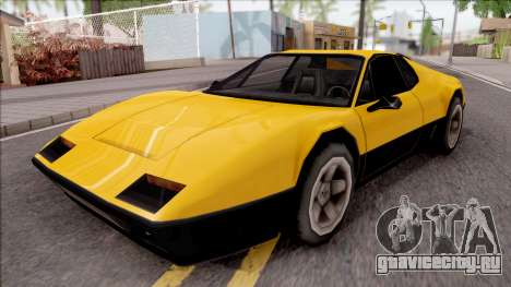 Cheetah 1976 для GTA San Andreas