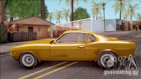 Driver PL Brooklyn V.2 для GTA San Andreas вид слева