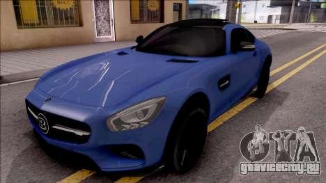 Brabus 700 Mercedes-AMG GT S для GTA San Andreas