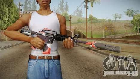 CS:GO - M4A1-S Cyrex для GTA San Andreas третий скриншот