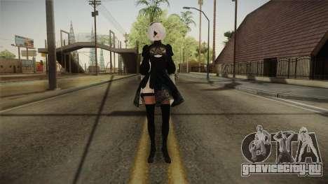 NieR: Automata - 2B для GTA San Andreas второй скриншот