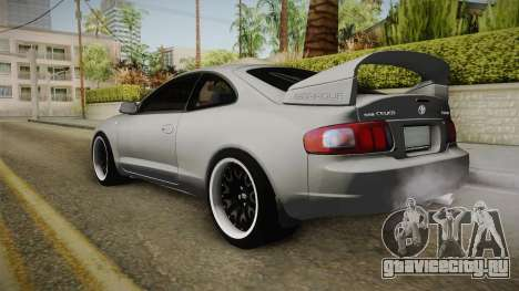 Toyota Celica GT для GTA San Andreas вид слева