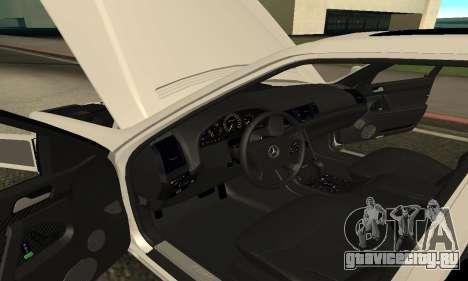 Mercedes-Benz S600 Armenian для GTA San Andreas вид сзади