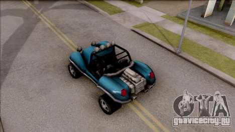 BF Injection from GTA 3 для GTA San Andreas вид сзади