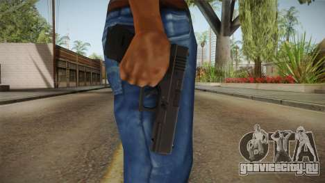 Glock 17 3 Dot Sight White для GTA San Andreas