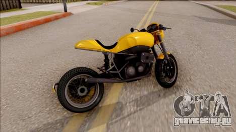 GTA V Imp-Exp FCR1000 для GTA San Andreas вид сзади слева