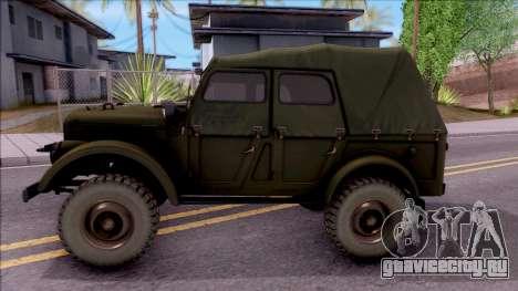 ГАЗ 69А для GTA San Andreas вид слева