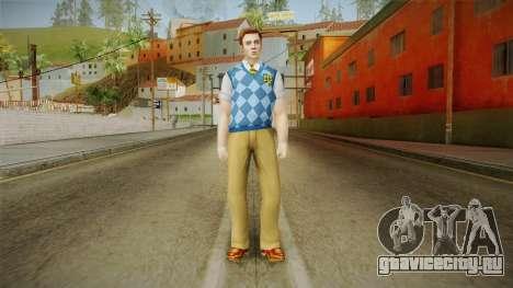 Tad Spencer from Bully Scholarship для GTA San Andreas второй скриншот