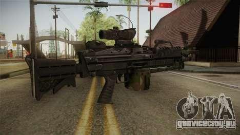 M249 Light Machine Gun v4 для GTA San Andreas третий скриншот