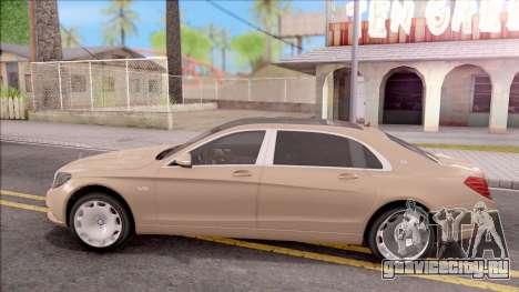 Mercedes-Maybach S600 для GTA San Andreas