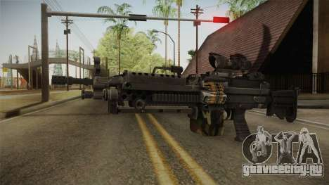 M249 Light Machine Gun v4 для GTA San Andreas второй скриншот