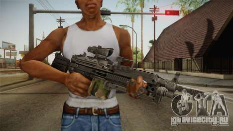 M249 Light Machine Gun v4 для GTA San Andreas