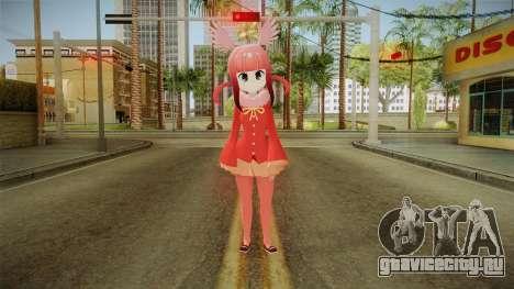 Kemono Friends Ibis Escarlata v2 для GTA San Andreas второй скриншот