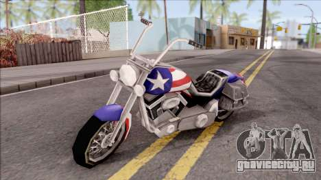 Liberty City Stories Angel для GTA San Andreas