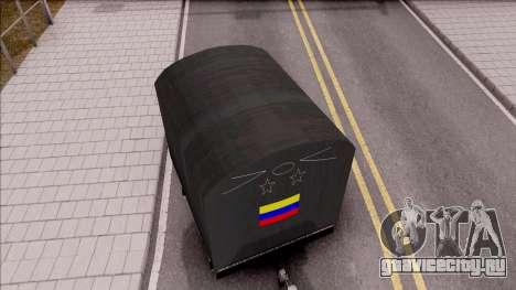 Remolque De Estacas для GTA San Andreas вид сзади слева