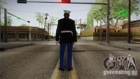 CoD: AW - Marine Dress Uniform Cormack для GTA San Andreas третий скриншот