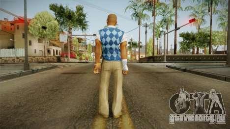 Chad from Bully Scholarship для GTA San Andreas третий скриншот