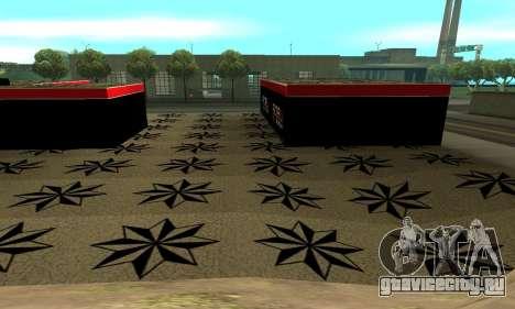 БПАН Армения гараж в SF для GTA San Andreas пятый скриншот