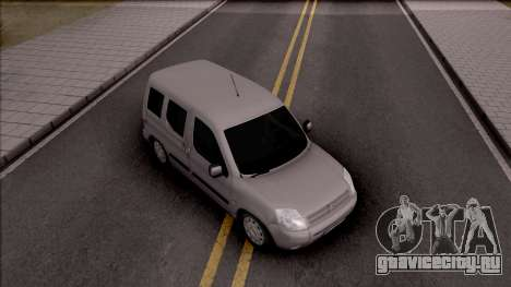 Citroen Berlingo Mk2 для GTA San Andreas вид справа