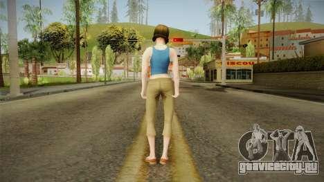 Pinky Gauthier from Bully Scholarship v2 для GTA San Andreas третий скриншот
