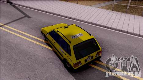 Chevrolet Sprint Taxi Colombiano для GTA San Andreas вид сзади