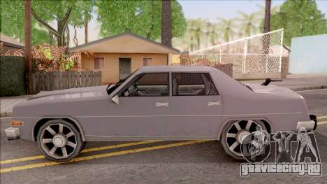 Stepfather Car from Bully для GTA San Andreas вид слева