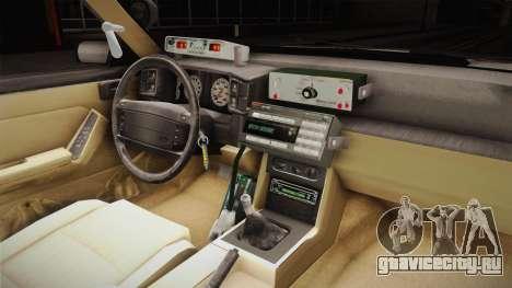 Ford Mustang SSP 1993 YRP для GTA San Andreas вид сзади